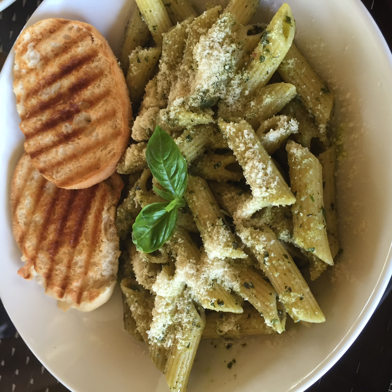 Classic Pesto. I love that they use ingredients fresh from their vegetable patches. You can really taste the difference.