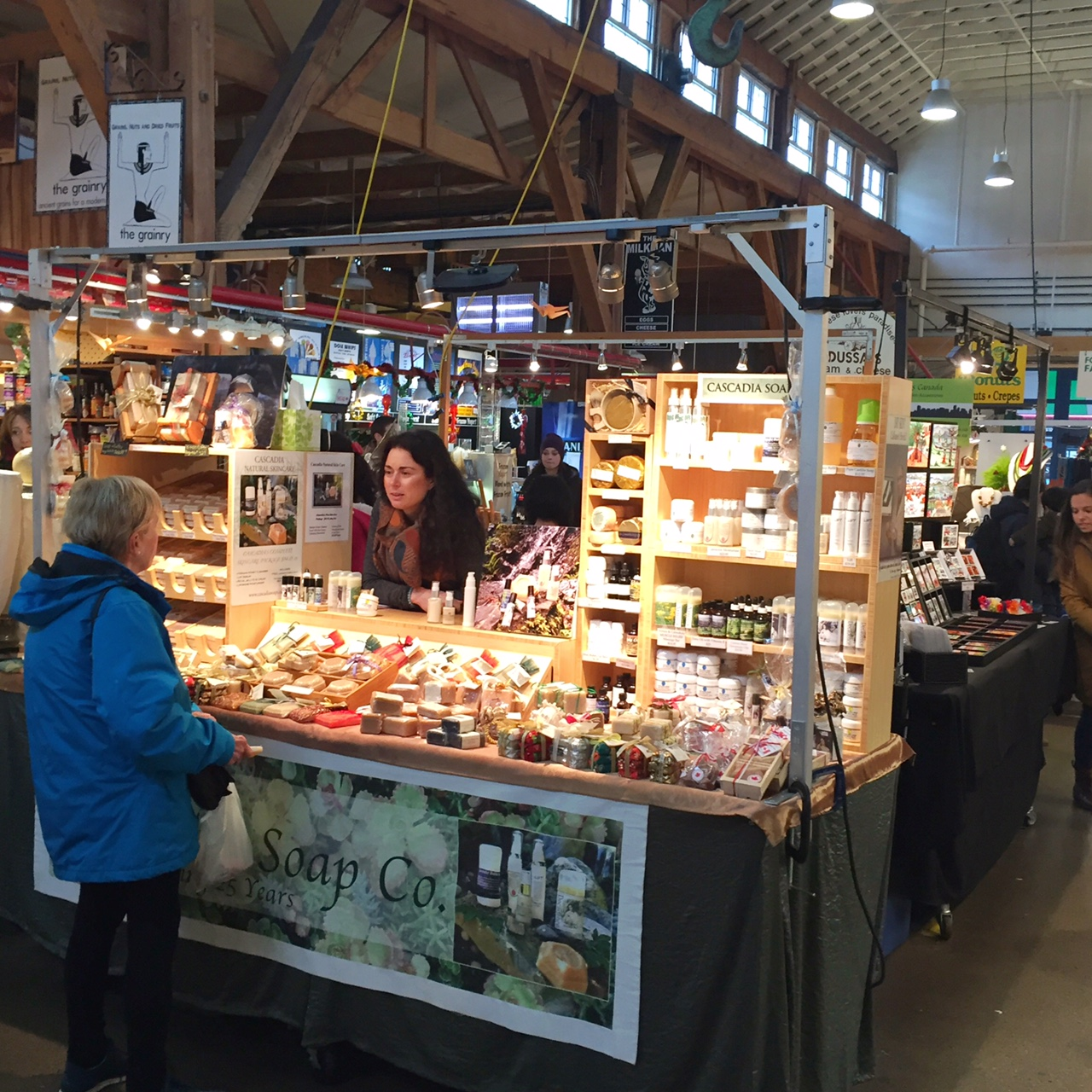 Artisanal everything is just the norm here in Granville Island