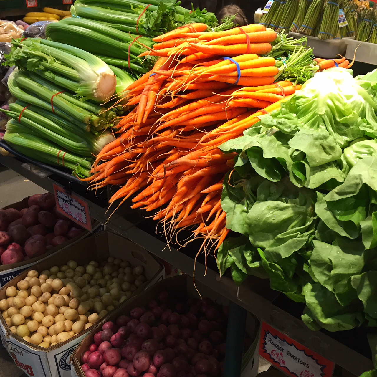 Everything you want your vegetables to be: fresh, organic and cheap