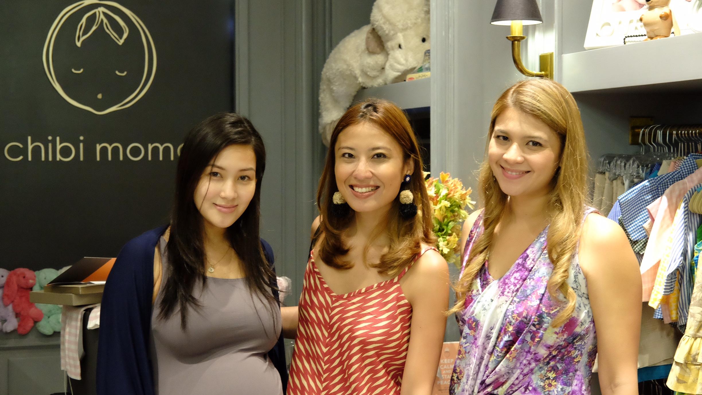 Hot mommas: Mikaela Lagdameo-Martinez, Rosanna Ocampo-Rodriguez and Juana Manahan-Yupangco