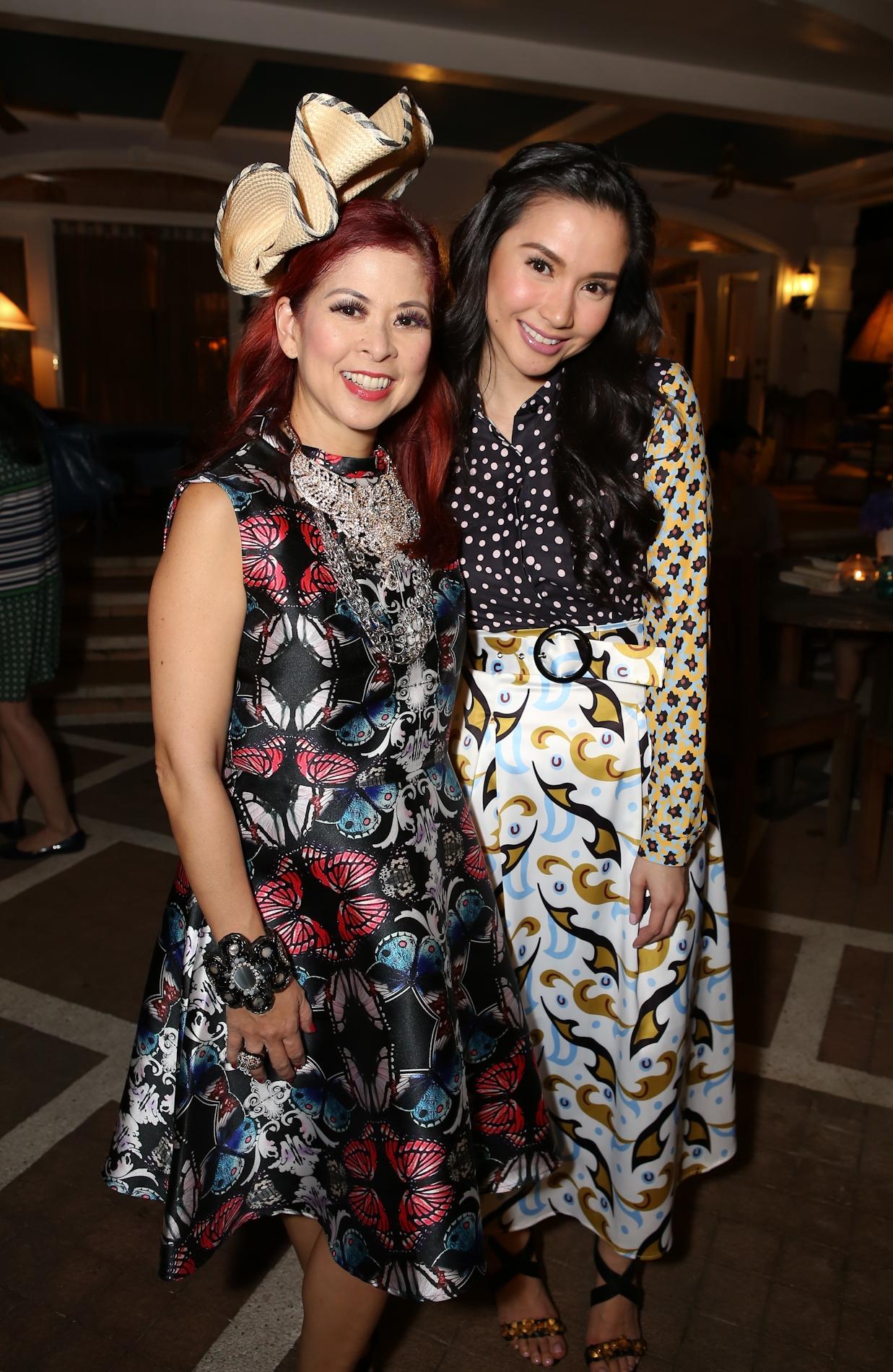 Tessa Valdes and Mariel Padilla