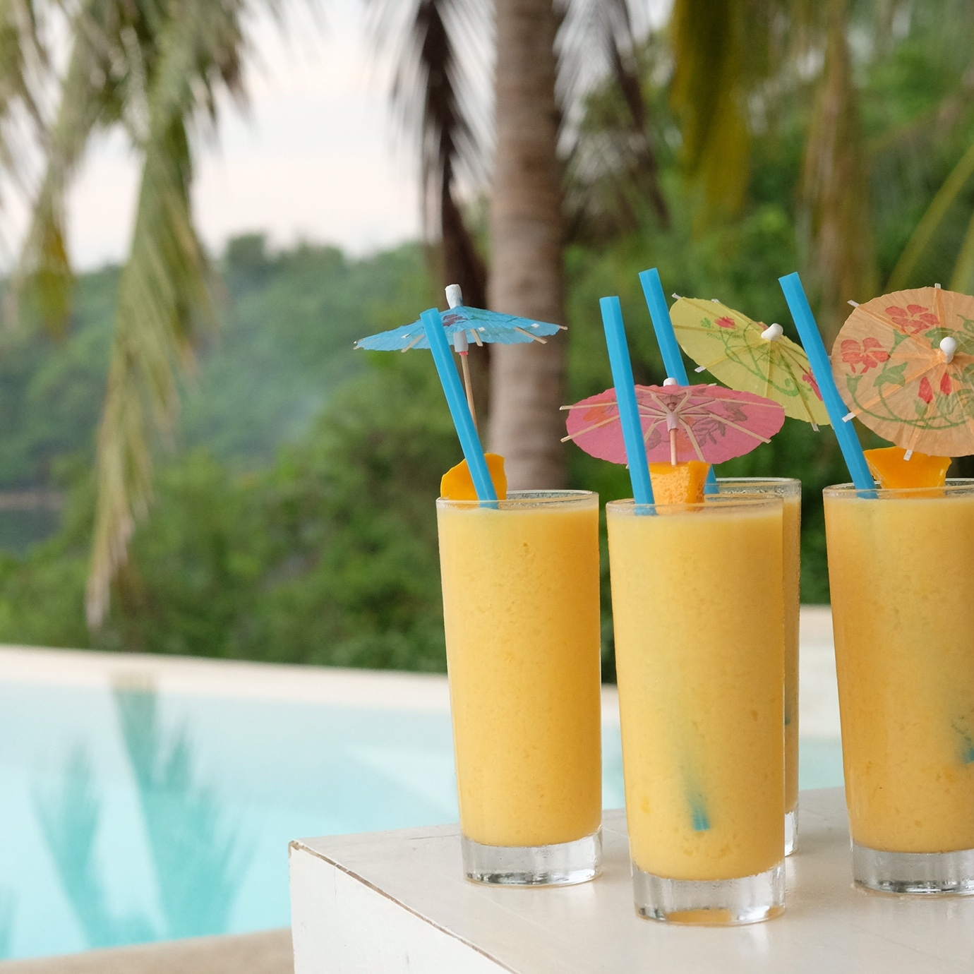 Fresh Mango shakes: delicious and refreshing