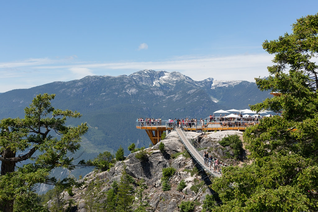 Just one of the many panoramic viewing stations