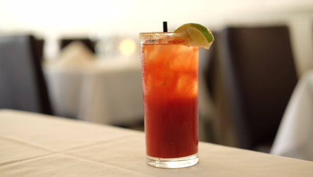 How about a delicious Ceasar to start?